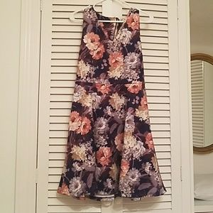 A line dress with flare