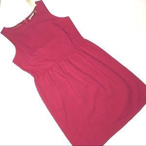 Loft Berry Sleeveless Dress 6P New with Tags