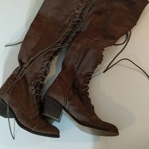 Free People Joe Lace Up Boot Size 8