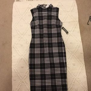 New York and Company plaid dress new with tags!