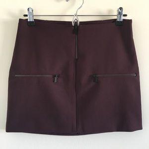 Elizabeth and James Faye Ponte Mini Skirt Sz 2
