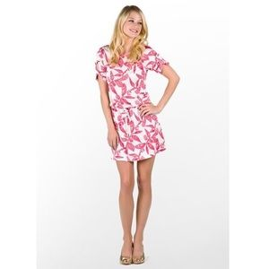 Lilly Pulitzer Pink & White Nautical Raquel Dress!