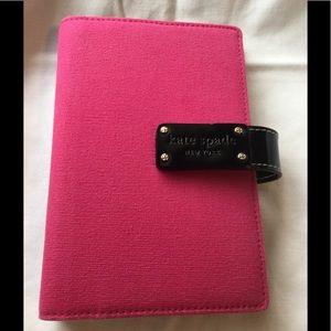 "Kate Spade ""Anne"" Pink agenda planner"