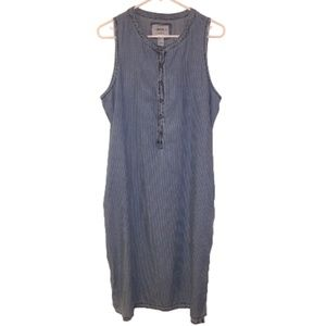 Forever 21 Button Up Jean Dress