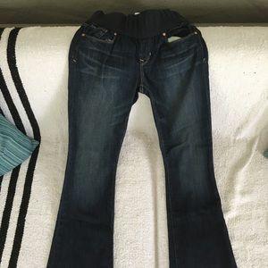 GAP maternity denim jeans size 24