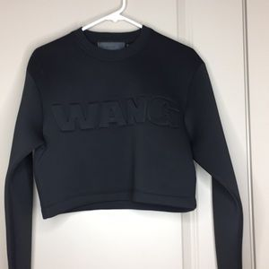 Alexander Wang X HM Scuba Crop sweatshirt