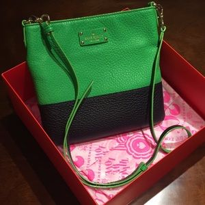 Kate Spade Two Toned Crossbody!