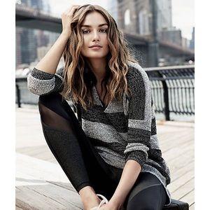 Express Stripe London Tunic Sweater