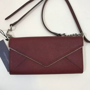 "Rebecca Minkoff ""Cleo"" wallet on chain WOC NWT"