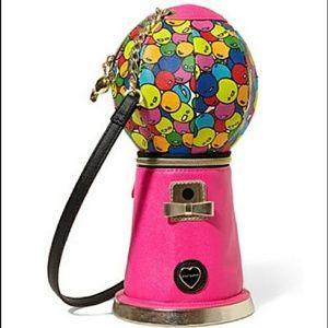 Pink gumball bag