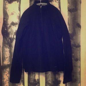 Patagonia women's black capilene fleece 1/4 zip am