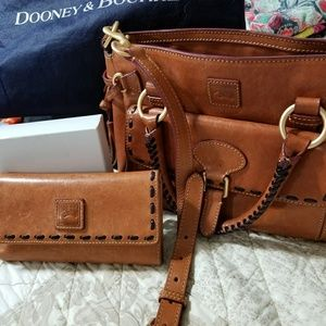 Dooney and Bourke Satchel and Wallet