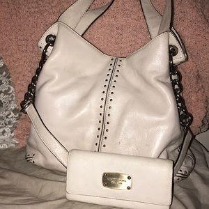 Michael Kors Leather Bag Set