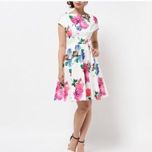 Kate Spade Blossom Fit & Flare Dress. Size 0.