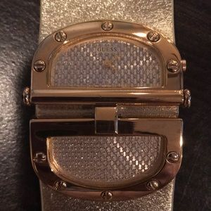 Genuine Leather GUESS Watch