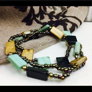 New seed bead bracelet set