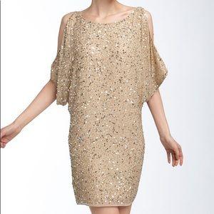 Aiden Mattox Cold Shoulder Dress