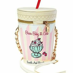 Brr baby it's cold milkshake crossbody