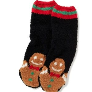 Accessories - gingerbread man soft socks