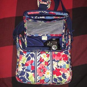 Vera Bradley camera bag
