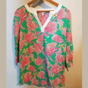 Lily Pulitzer Bathing Suit Tunic Cover up