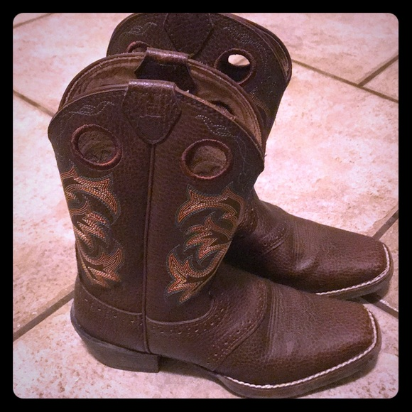 726e912ef622 Justin Boots Other - Justin Youth Boys  Junior Stampede Cowboy Boots