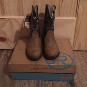 Brand New Little Boy Roper Cowboy Boots Size 13