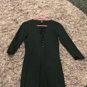 Lace up Little Black Dress!