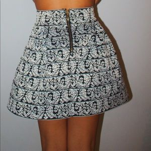 Holiday/Season High-Waisted Skirt