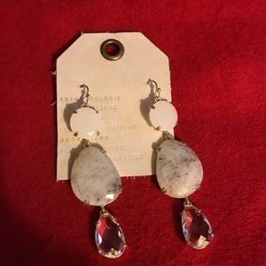 Anthropologie Dressy Holiday Earrings New W Tags
