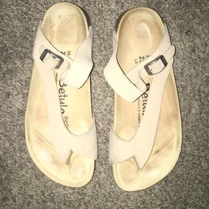 Betula by Birkenstock beige sandals size 36