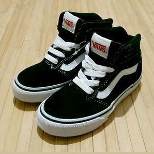 Vans Old Skool High Top Black Shoes Sneakers