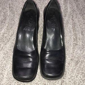 Franco Sarto 7.5 Women's black heels