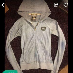 Victoria secret hoodie with logo on back side