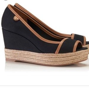 NEW Tory Burch Majorca Espadrille Wedges