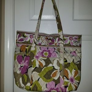 Vera Bradley Portobello Road  XL bag  NWOT