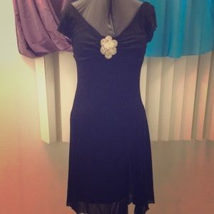 Charlotte Russe Black Antique Style Dress