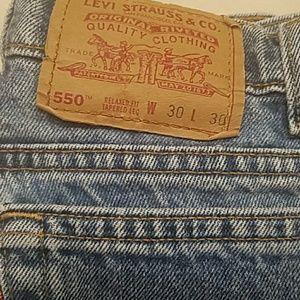 Vintage 550 Levis 30x30
