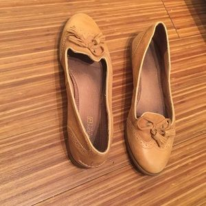 Tan Sperry Loafers
