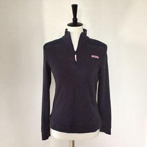 [Vineyard Vines] dark blue & pink shep shirt