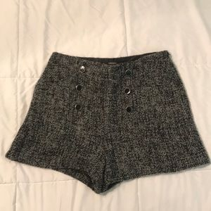 Thick shorts, would be cute with black tights