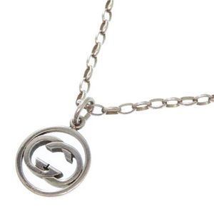 Authentic Gucci 925 GG Charm Necklace