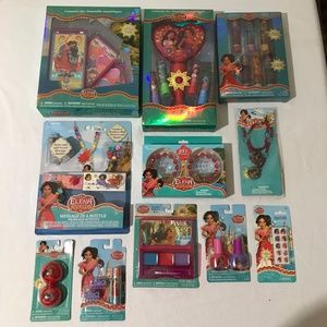 Disney Elena of Avalor Cosmetics Accessories Lot