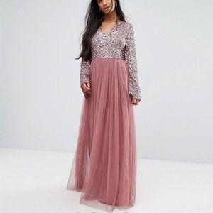 ASOS maxi tulle dress