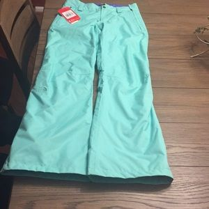 The North Face Surf Green Ski Snow pants XS