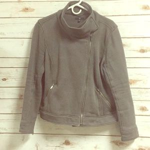 Fabric Moto Jacket