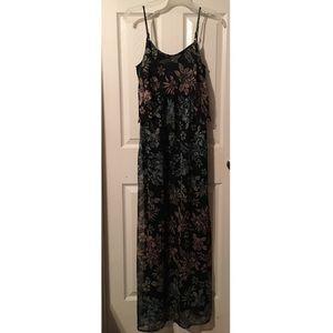 Jessica Simpson maternity long dress