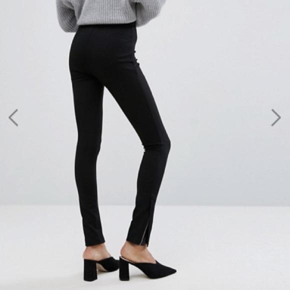 be694703e0972 ASOS Pants - ASOS tall black super high waist skinny pant