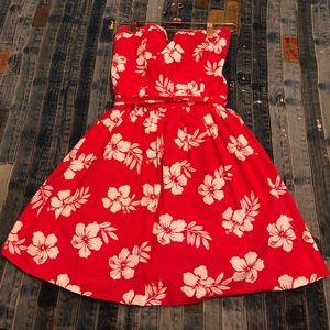 Hollister strapless sun dress