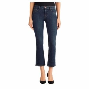 J Brand Selena Cropped Bootcut Lonesome Jeans